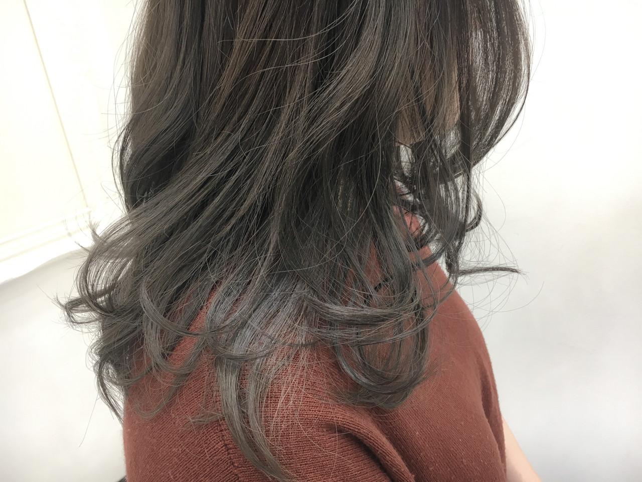 デート ナチュラル 外国人風カラー 透明感ヘアスタイルや髪型の写真・画像