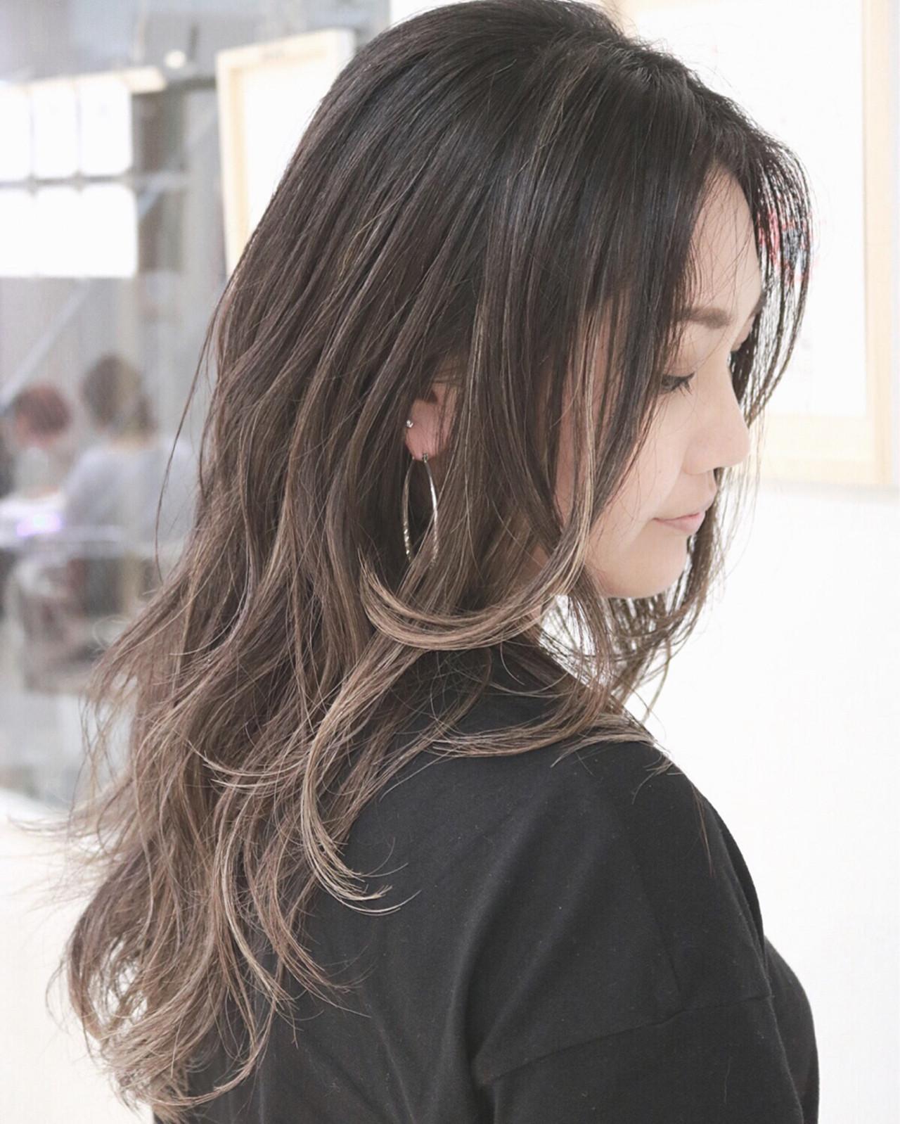 ロングさんにおすすめ♡夏に楽しむグラデーションカラーまとめ YUMIKO TAKADA