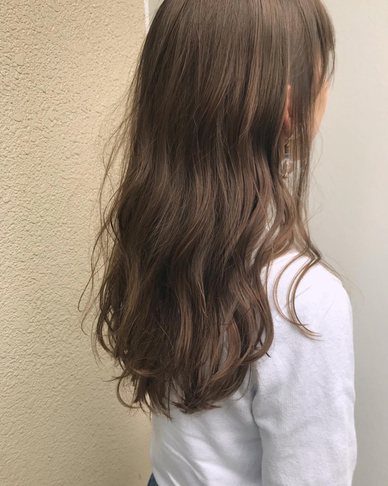 ゆるふわ 外国人風 ガーリー デート ヘアスタイルや髪型の写真・画像 | 岩田 和也 / NOE SALON / NOESALON