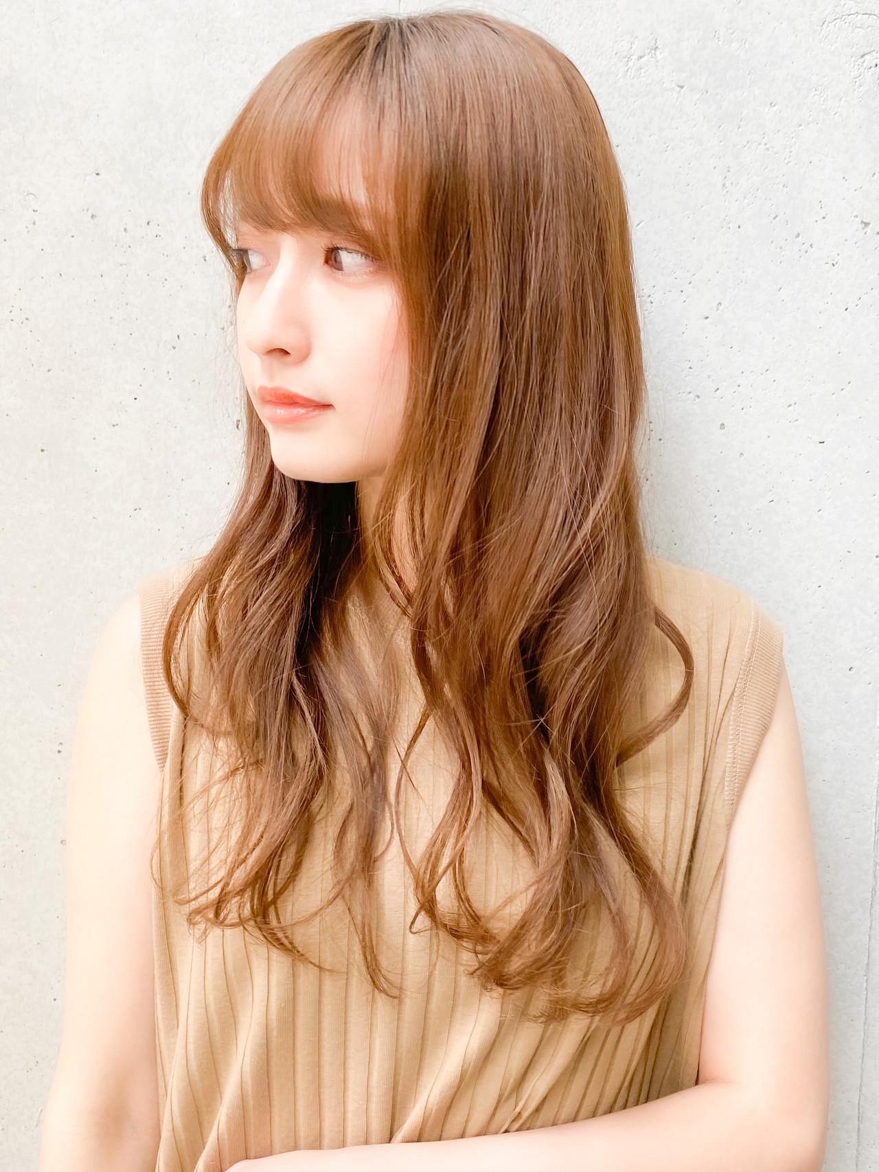 ゆるふわパーマ ナチュラル デジタルパーマ ゆるふわセット ヘアスタイルや髪型の写真・画像 | 原田 実茄 / Agnos 青山