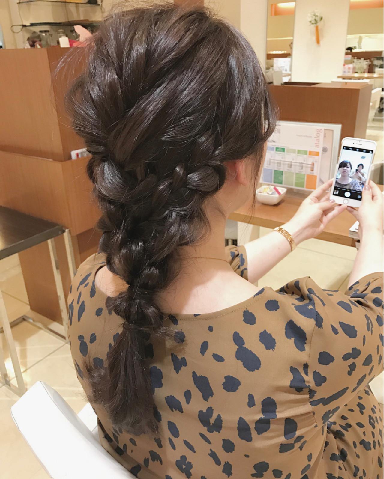 ショート ロング デート 女子会 ヘアスタイルや髪型の写真・画像   小田 孝一 / Oase makoto brands