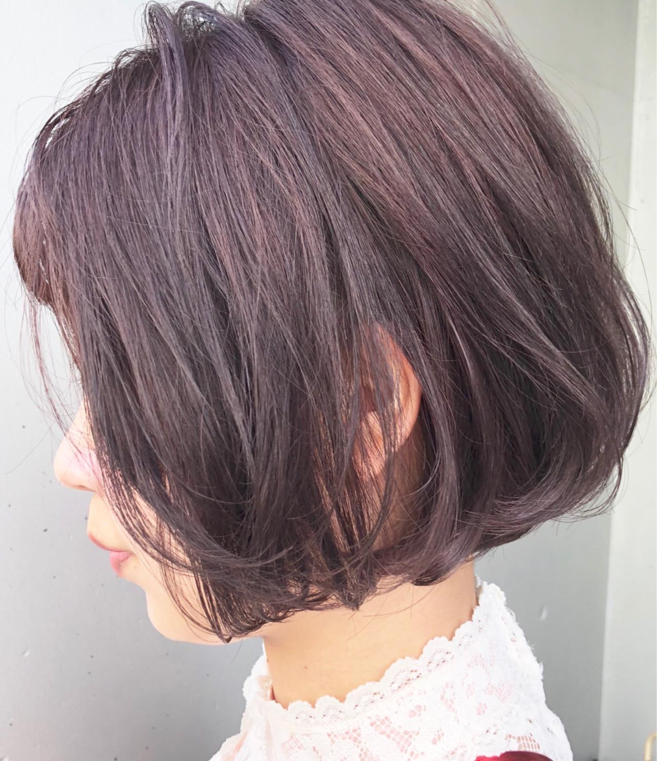 大人かわいい ナチュラル 色気 グレージュ ヘアスタイルや髪型の写真・画像 | 十亀 翔 / miel&melgina