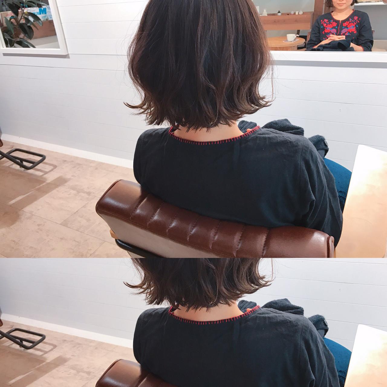 こなれ感 小顔 大人女子 ナチュラル ヘアスタイルや髪型の写真・画像   YUJI / LIICHI / LIICHI (リイチ)