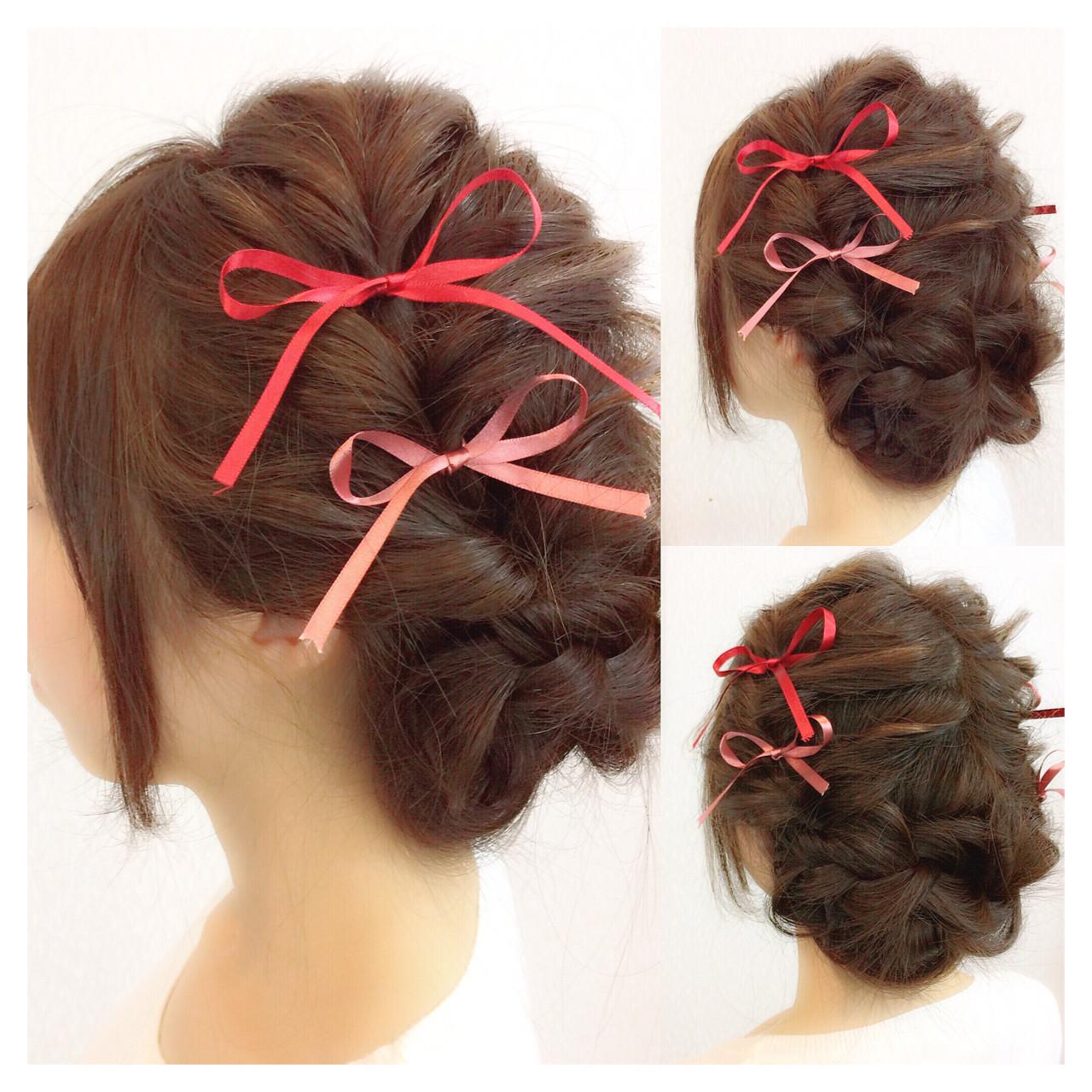 簡単ヘアアレンジ 二次会 結婚式 ショート ヘアスタイルや髪型の写真・画像 | ヤマナカサトル / DIOR of Hair