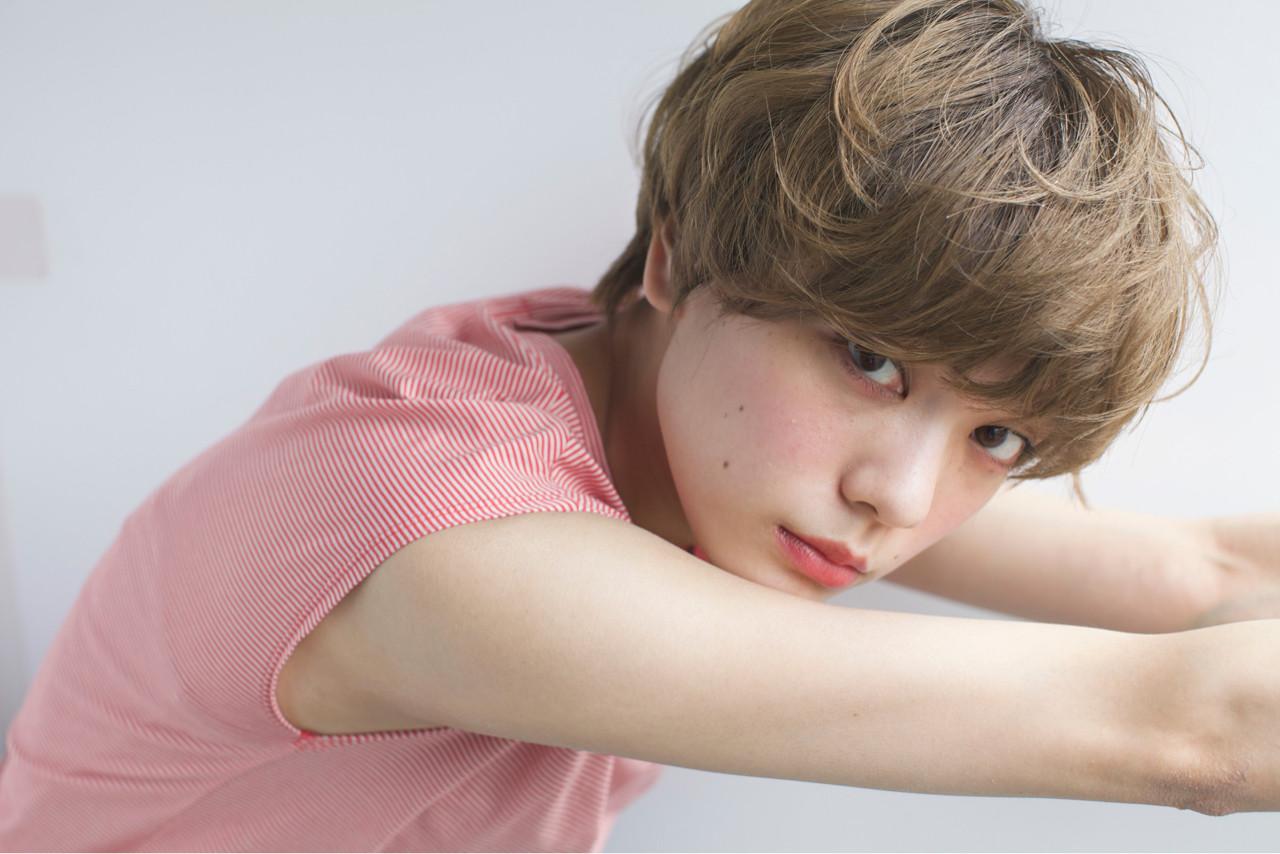 カッコイイよりも断然可愛くいたいでしょ。ガッツリショートでこの夏をのりきれ! 石川 瑠利子
