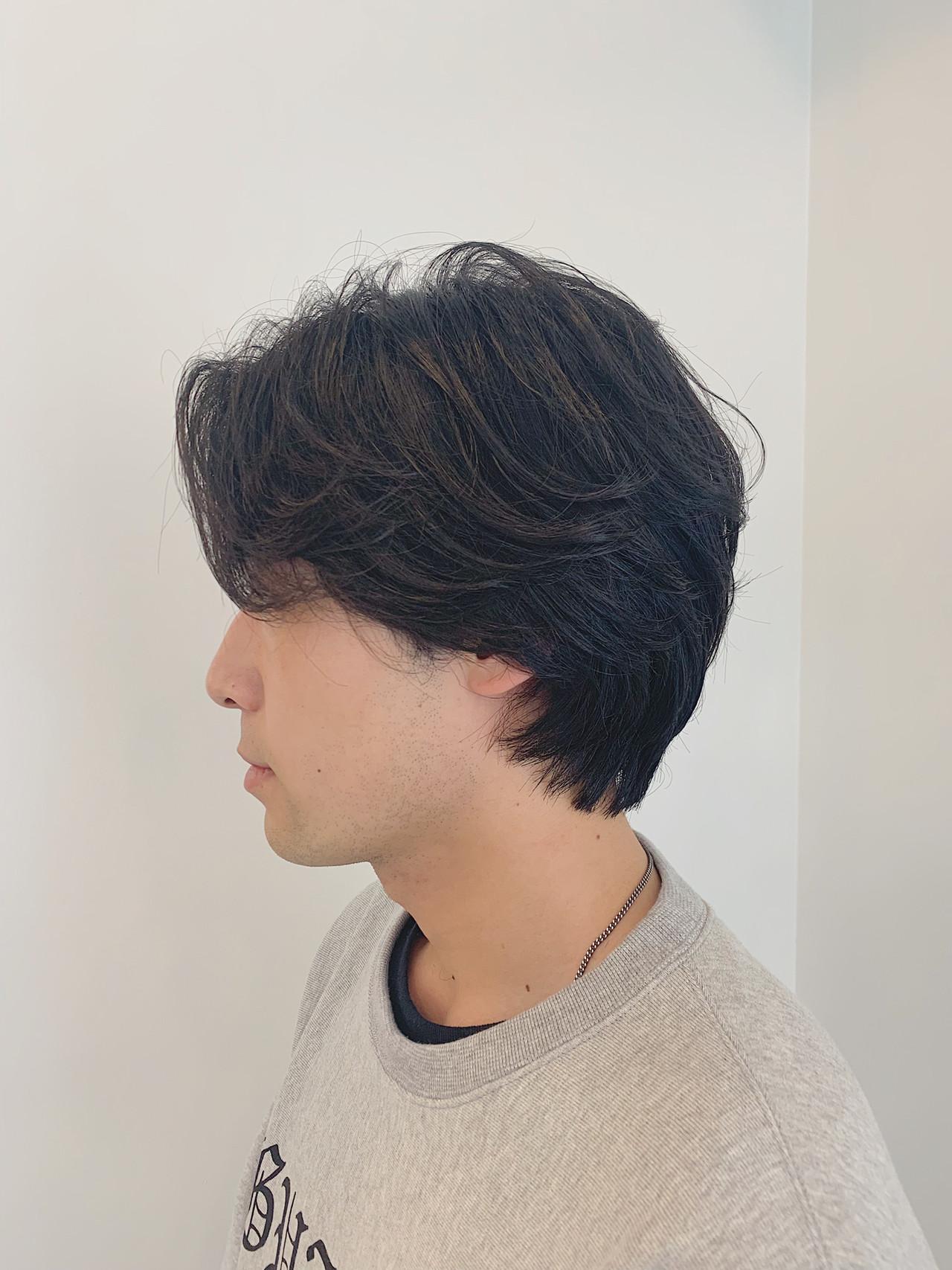 ナチュラル ショート メンズ メンズカジュアル ヘアスタイルや髪型の写真・画像 | 大内 雅斗 / DATE by Alan Smithee