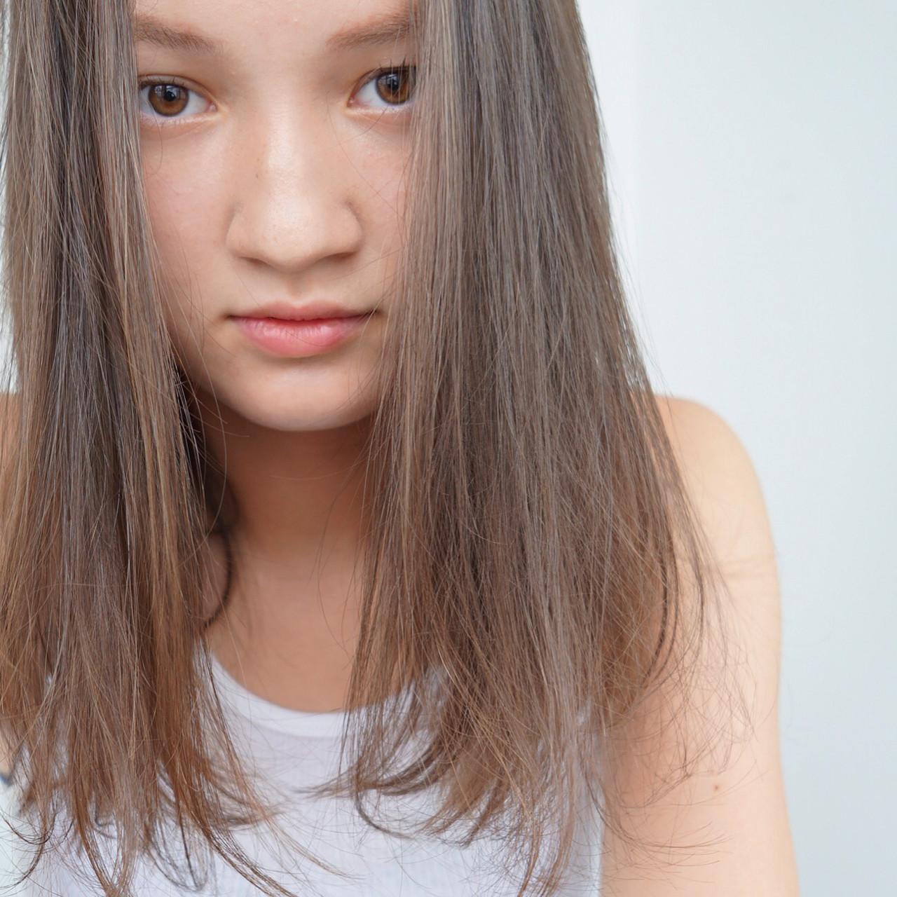 リラックス パーマ 透明感 秋 ヘアスタイルや髪型の写真・画像   UEKI/nanuk / nanuk二子玉川