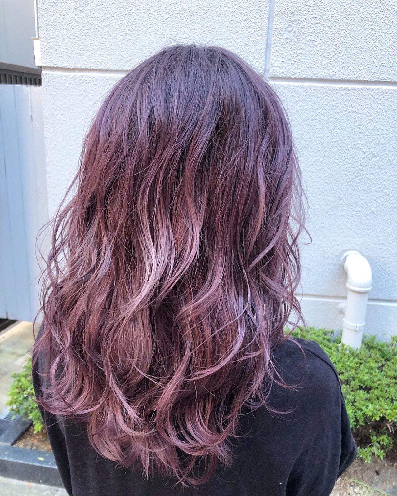 ピンクアッシュ ピンク ガーリー ラベンダーピンク ヘアスタイルや髪型の写真・画像 | 松田 光雄 / BLOCK