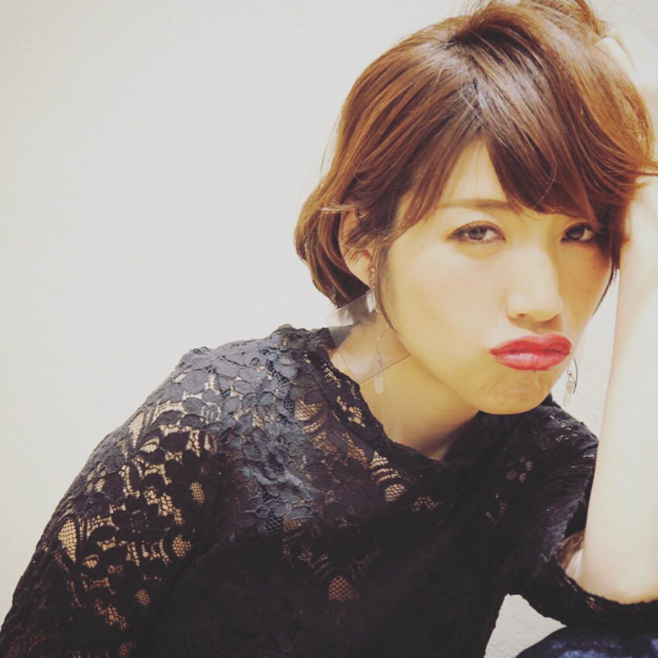 かっこいい 小顔 こなれ感 フェミニン ヘアスタイルや髪型の写真・画像 | yuunn /