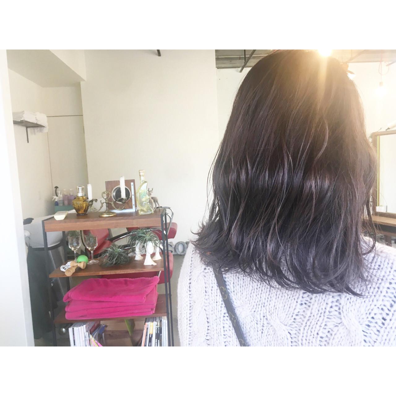 ハンサム ナチュラル ハロウィン ミディアム ヘアスタイルや髪型の写真・画像 | 森下佳哲 / lufun hair design
