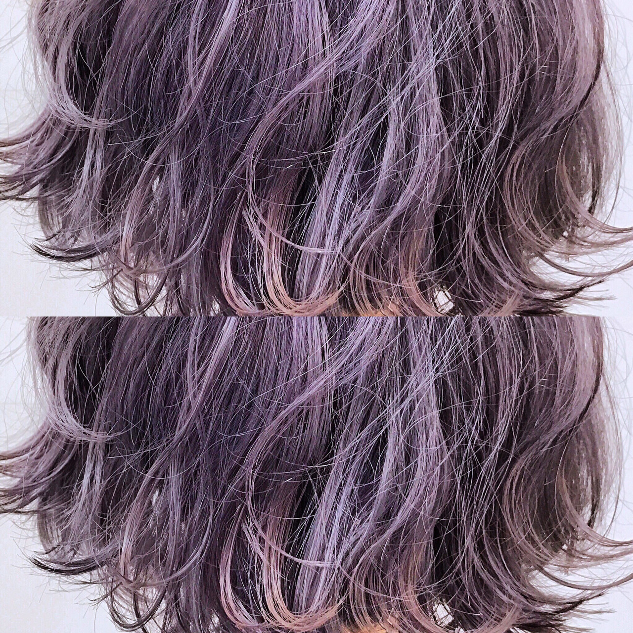 外国人風カラー ハイトーン ボブ 透明感ヘアスタイルや髪型の写真・画像