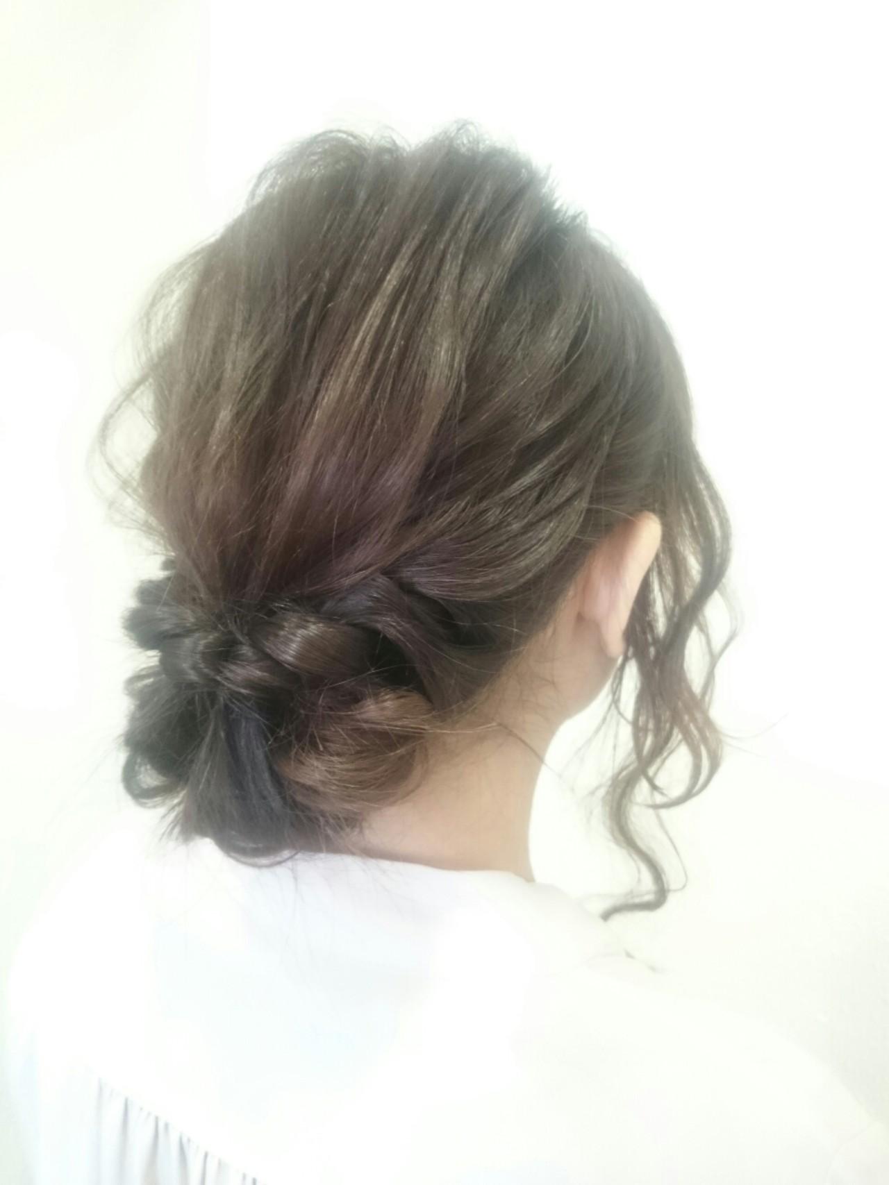 外国人風 大人女子 ヘアアレンジ ショート ヘアスタイルや髪型の写真・画像 | 中川 武 / 以彩