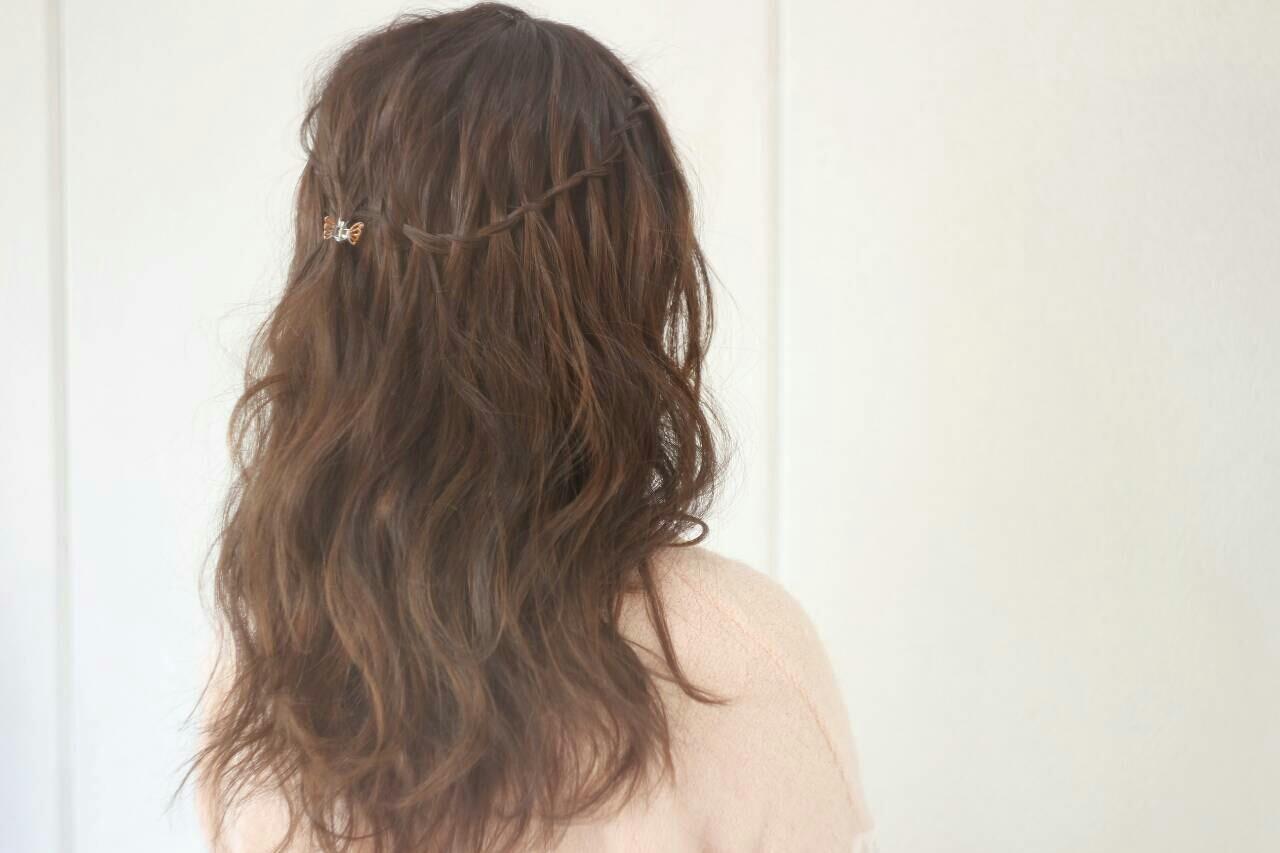 ヘアアレンジ ロング 外国人風 上品 ヘアスタイルや髪型の写真・画像 | 濱上 円来 /