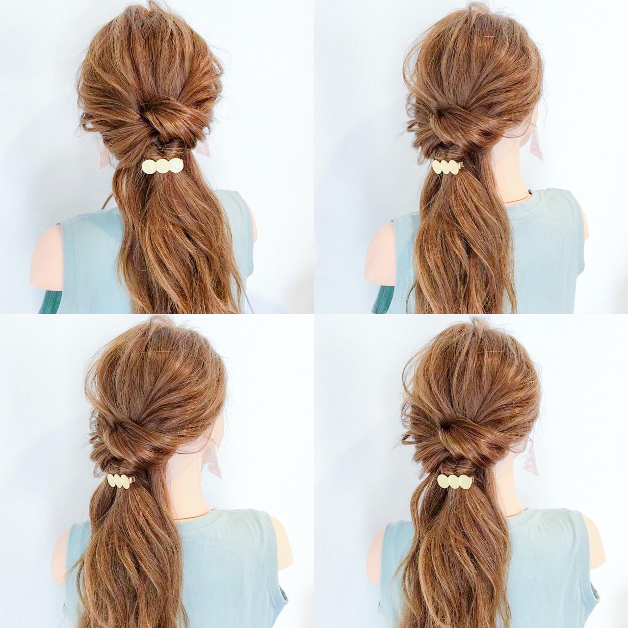 ヘアアレンジ デート オフィス 夏 ヘアスタイルや髪型の写真・画像 | 美容師HIRO/Amoute代表 / Amoute/アムティ