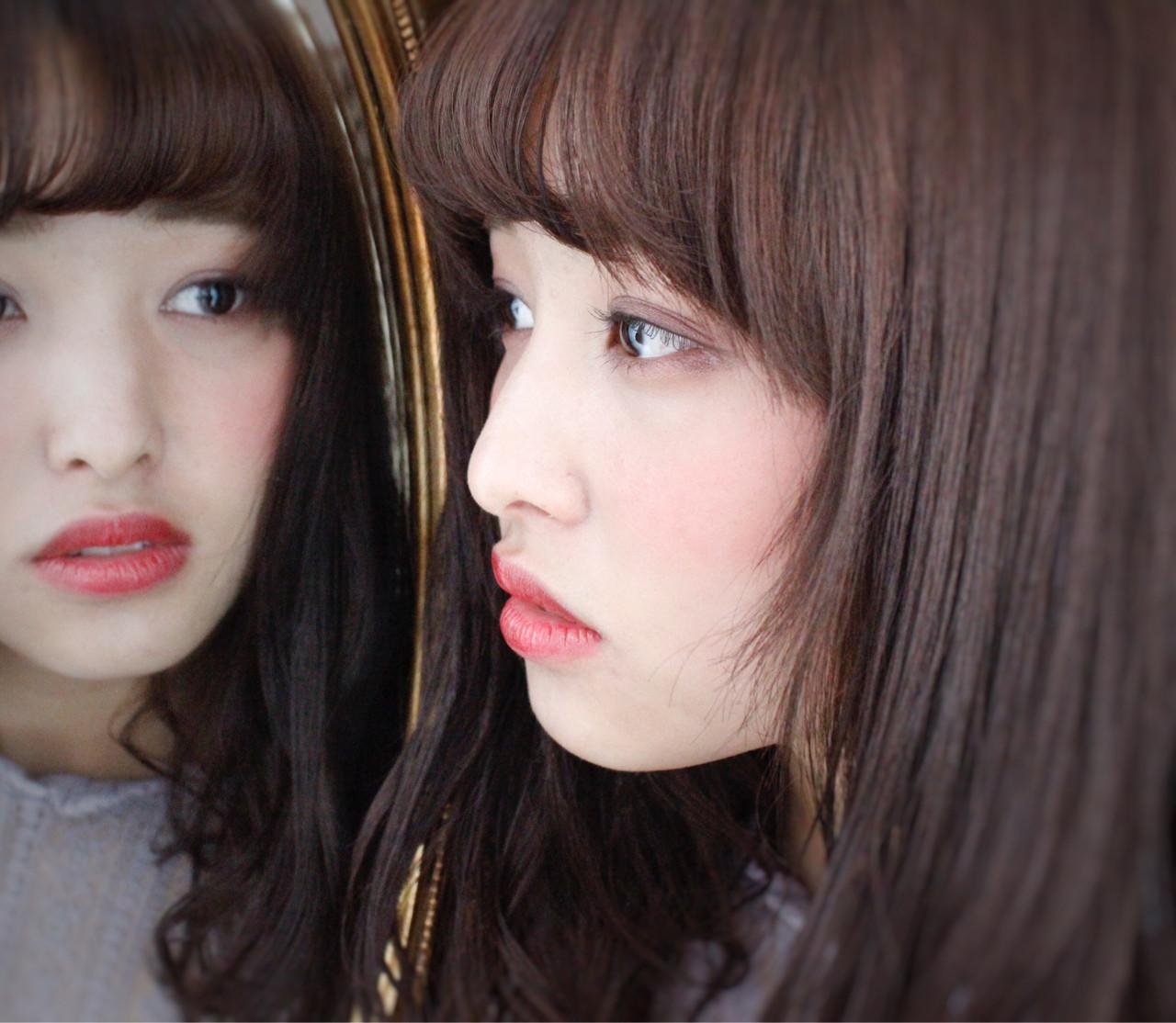 外国人風 フリンジバング ナチュラル パーマ ヘアスタイルや髪型の写真・画像 | 上田智久 / ooit 福岡 天神 / ooit