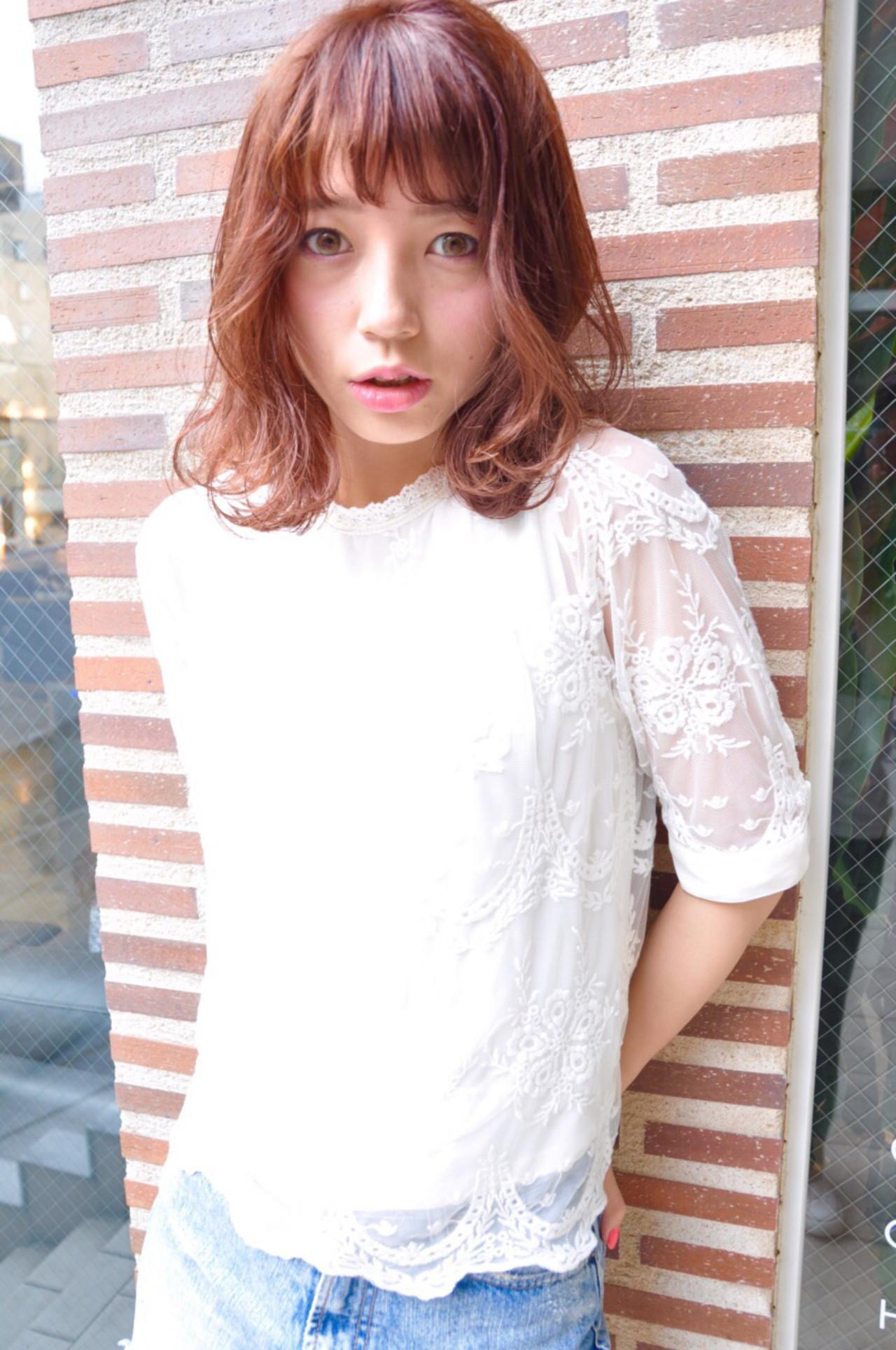 ストリート 簡単 ミディアム パーマ ヘアスタイルや髪型の写真・画像 | Ryota Yamamoto Daisy / Daisy