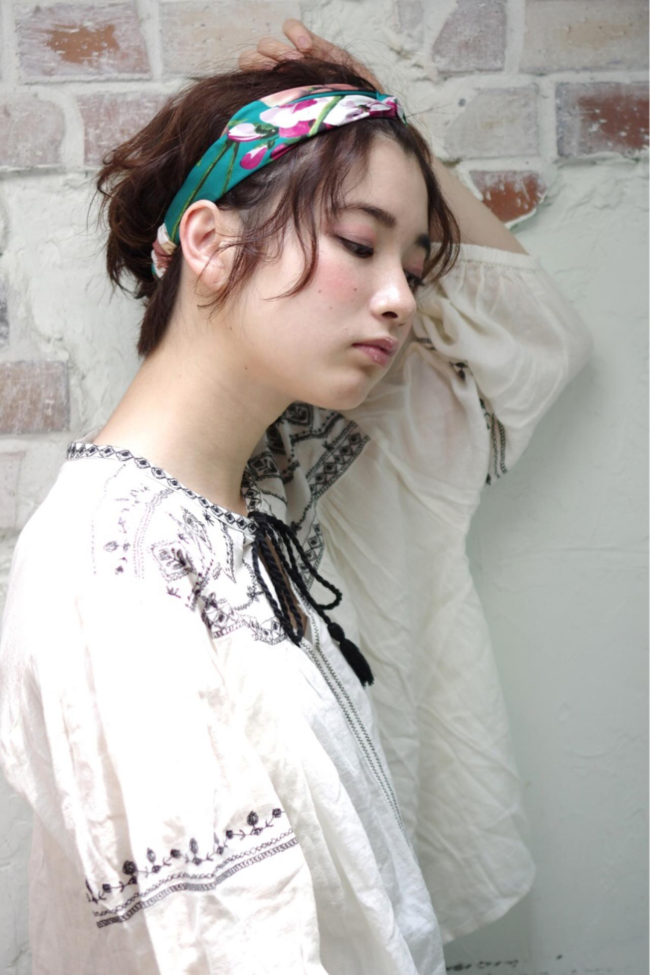 ヘアアレンジ ストリート 外国人風 簡単ヘアアレンジ ヘアスタイルや髪型の写真・画像 | 西川 賢一 blast / blast