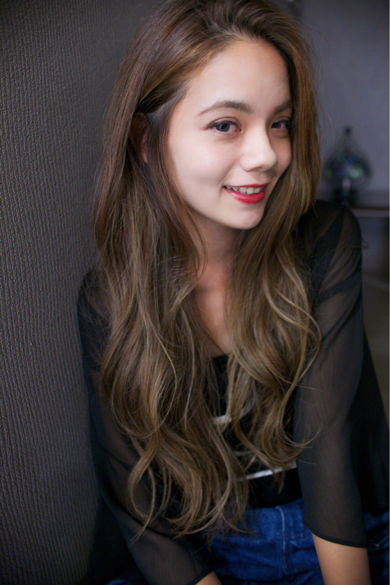 グラデーションカラー 暗髪 ナチュラル ピュア ヘアスタイルや髪型の写真・画像 | 立野寛『リュウノ ヒロシ』 / kicros