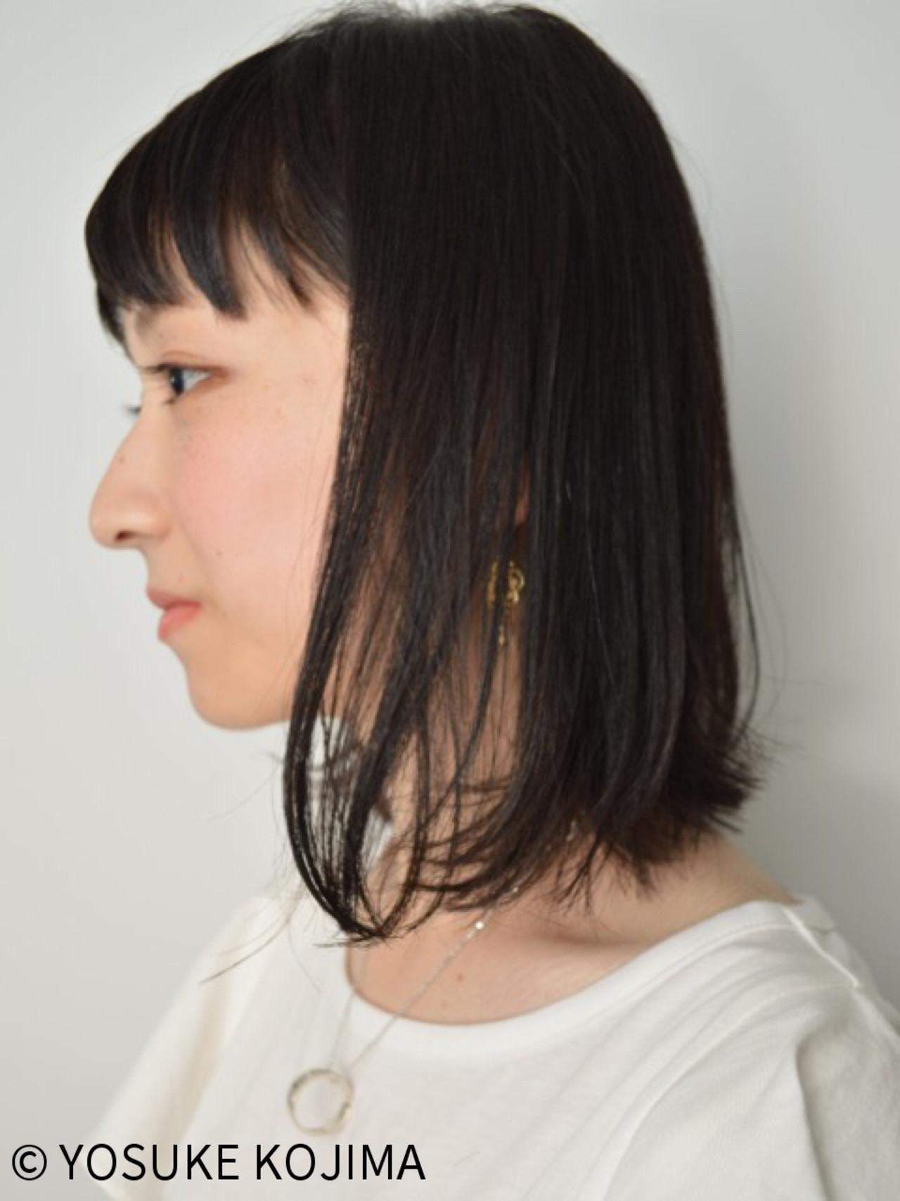 ストリート 前髪あり ボブ くせ毛風 ヘアスタイルや髪型の写真・画像   YOSUKE KOJIMA / CONO HAIR