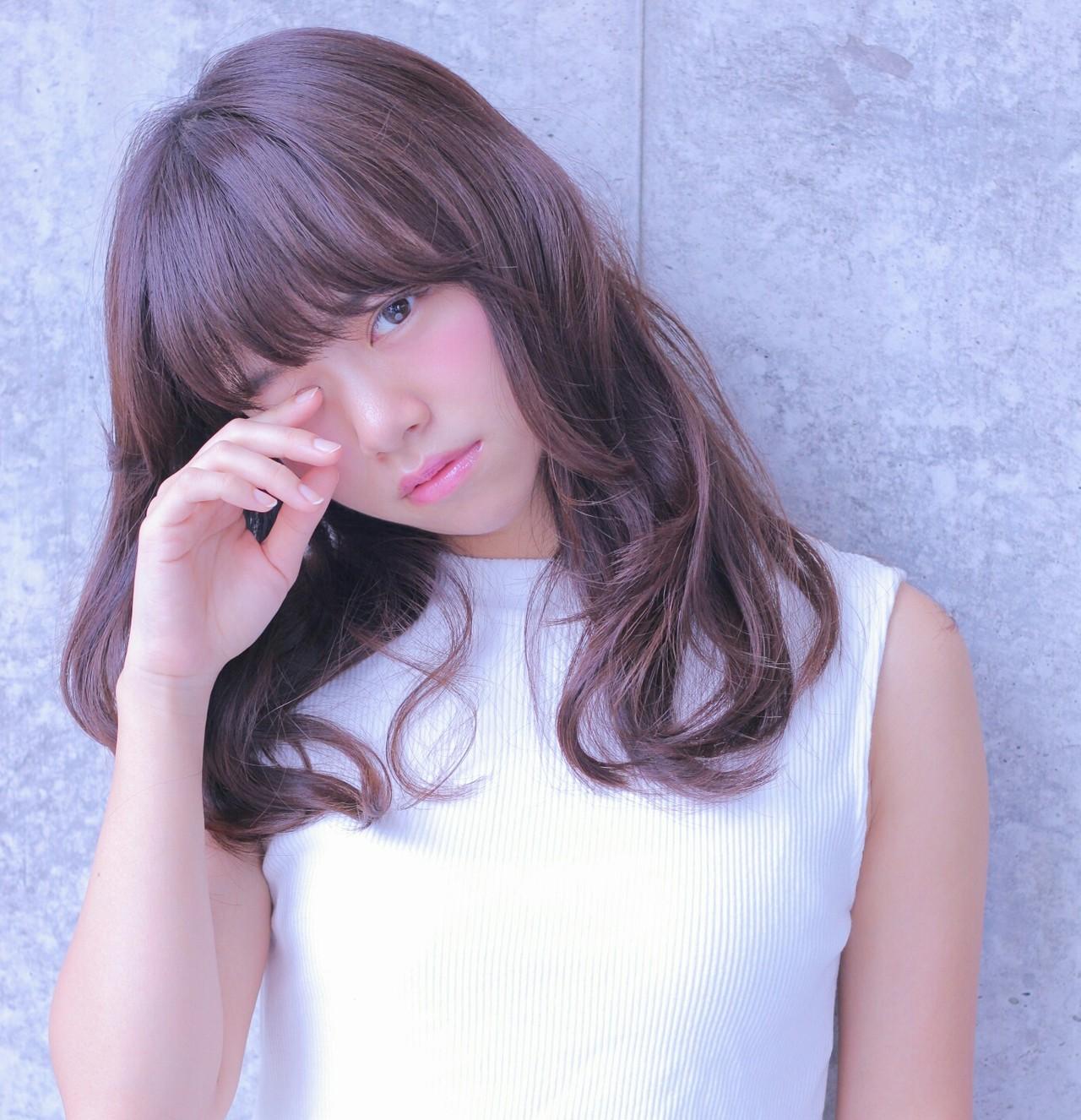 ラベンダーアッシュなあなたの髪色を旬に♪うっとり色落ちを楽しもう Wataru Maeda / cache cache