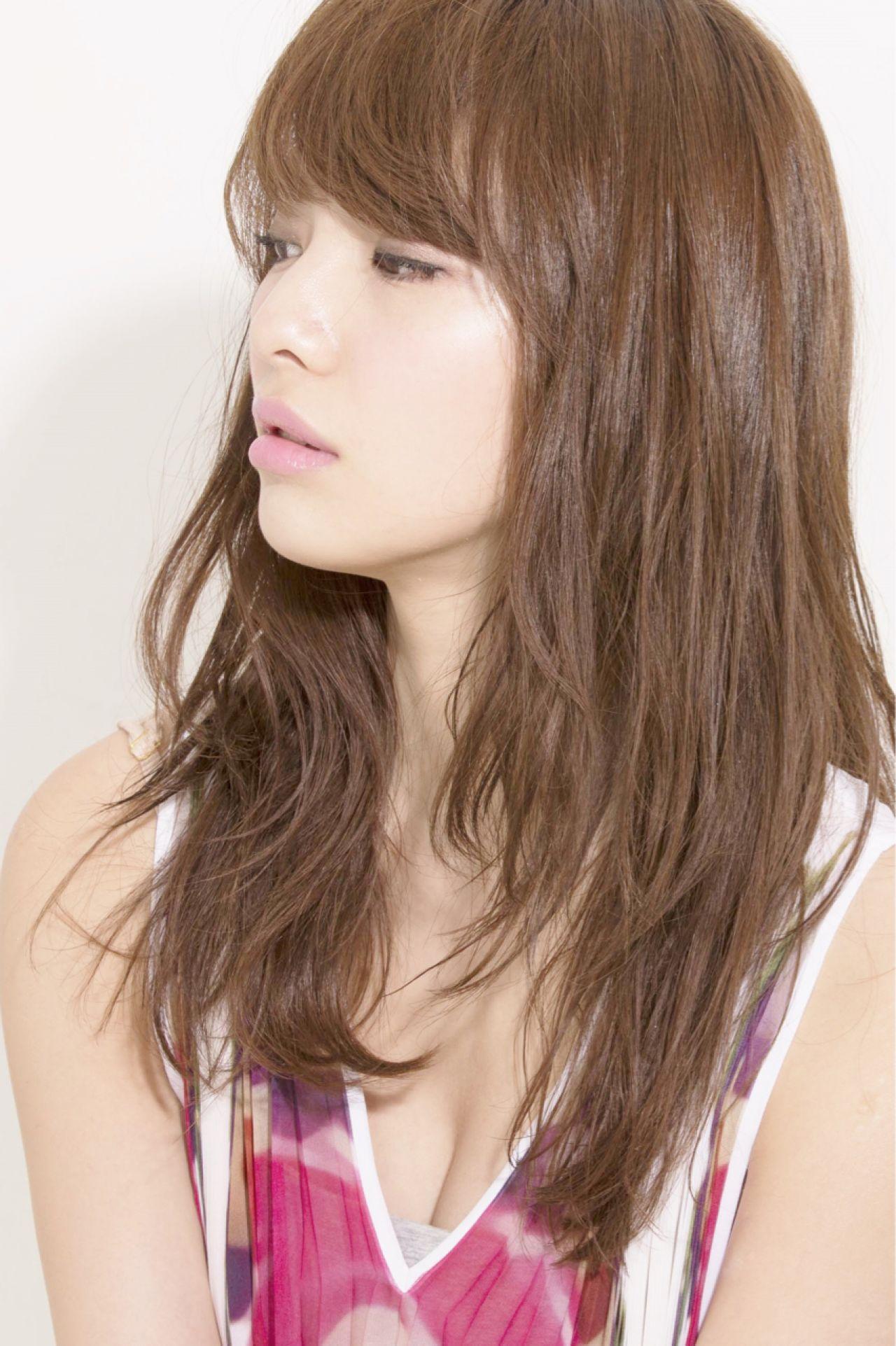 愛され モテ髪 ナチュラル コンサバ ヘアスタイルや髪型の写真・画像   小山 圭介/U-REALM / U-REALM