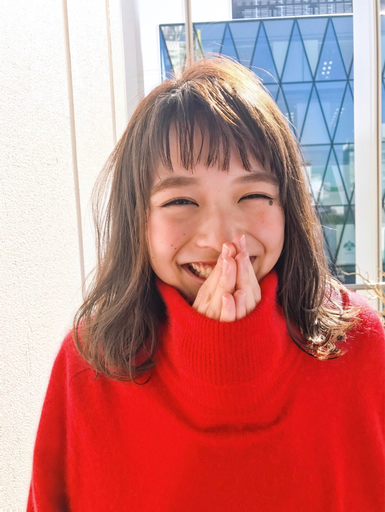 クリスマス 冬 ナチュラル デート ヘアスタイルや髪型の写真・画像 | lora.garden 細田真吾 / lora.garden