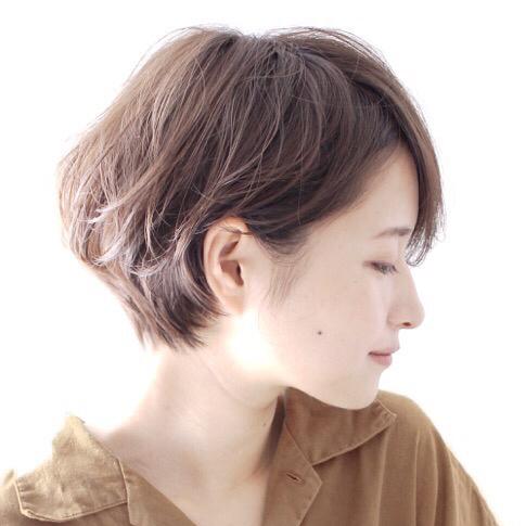 堀越 真/ショートヘア/ショートボブ